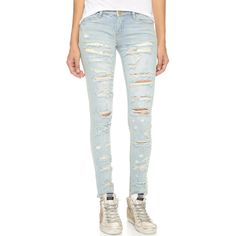 Blank Denim Distressed Skinny Jeans and other apparel, accessories and trends. Browse and shop related looks.