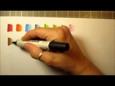 this is what I used to purchase my first set of markers...  Colour Combinations using Letraset Promarkers - YouTube