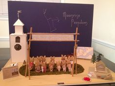Moonrise Kingdom Peep Diorama submission to Washington Post contest