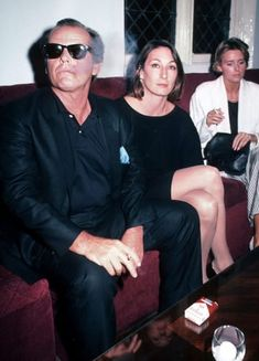 "cinemamonamour: "" Jack Nicholson and Anjelica Huston at the premiere of the movie Amadeus, Sept 1984 "" Jack Nicholson, Anjelica Huston, Cinema, Al Pacino, Celebs, Celebrities, Classic Hollywood, Hollywood Icons, Hollywood Actresses"
