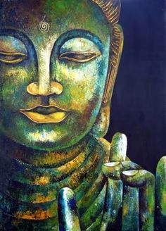 Buddha Artwork, Buddha Wall Art, Buddha Zen, Buddha Painting, Gautama Buddha, Zen Art, Buddhist Art, Indian Art, Oeuvre D'art