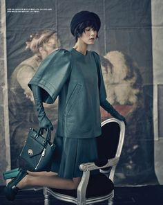 Mulberry feature in Vogue Korea AW13