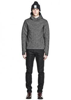 Sam Quilt Sweater - Black Pattern - Hope STHLM