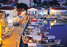 The port in Myrina of Lemnos! Samos, Places In Greece, Greece Islands, In Ancient Times, Santorini Greece, Ultimate Travel, Greece Travel, Athens, Travel Photos
