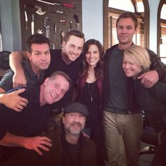 The crew. #ChicagoPD