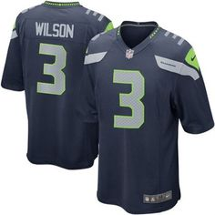 Nike Russell Wilson Seattle Seahawks Team Colored Game Jersey fd43b8ac7b