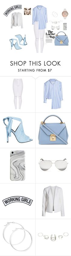 """working girls"" by natalyholly on Polyvore featuring Vetements, Loewe, Kendall + Kylie, Mark Cross, Recover, Victoria Beckham, Working Girls, claire's and Olivia Burton"