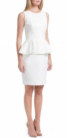Alexa Peplum Dress