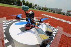 FPV #drone with Tattu 1300mah 4s