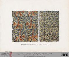 Bayerischer Kunstgewerbe-Verein (Bavarian Arts and Crafts), vintage art magazine, Vol 51, 1900-1901. Art nouveau.