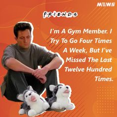 Collection of Chandler Bing or Matthew Perry's dialogues that will refresh you for sure. Click on image to read the whole article. Matthew Perry, Chandler Bing, One Liner, Legends, Happy Birthday, Entertaining, Reading, Quotes, Image