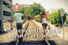I know You like me couples quotes for him and her