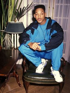 The Fresh Prince of Bel Air. Fresh Prince, Mode Gangster, Estilo Gangster, The Smiths, Hip Hop Fashion, 90s Fashion, Fashion Clothes, Style Clothes, Daily Fashion