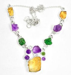 de4e4d00b085c Buy Citrine Silver Necklaces At Wholesale Price. Citrine Jewelry