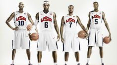 USA Basketball Uniforms by Nike . . .