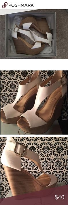 NWT Jessica Simpson Wedges New with tags                                                                       Flawless Condition                                                                 Retails for $69.99                                                                  CHEAPER ON VINTED: closettheresa Jessica Simpson Shoes Wedges