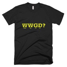 WWGD - Short sleeve men's t-shirt - Properttees