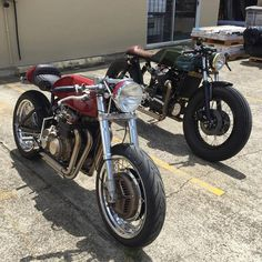 CB400f (to 466) and CX500 by PopBang Classics