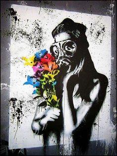 a thousand words | via weigeltw.tumblr.com | Artist: Goin #streetart