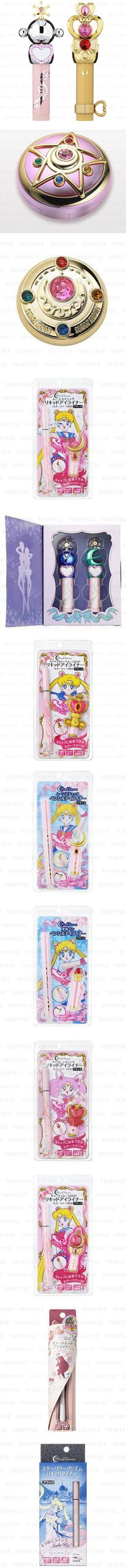 Sailor Moon beauty products. I don't even wear make up, but I want these. That's the power of their merchandise. Visual. Inspirational. Internet.