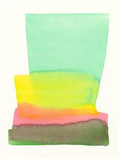 Malissa Ryder - Simple yet colorful watercolor painting - Graphic