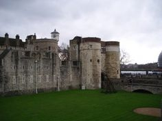 The Byward Tower, this is the part of the Tower of London where Anne Boleyn was brought to The Tower after her arrest at Greenwich May 02,1536. Sir Edmond Walsingham, Sir William Kingston's deputy met her there.