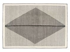 Camden Large Diamond Wool Rug 160 x Black and Off White Camden, Glass Floor Lamp, Tapis Design, Contemporary Classic, Modern Rugs, Rug Making, Decoration, Rugs On Carpet, Carpets