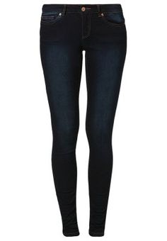 EVE - Slim fit jeans - dark blue denim