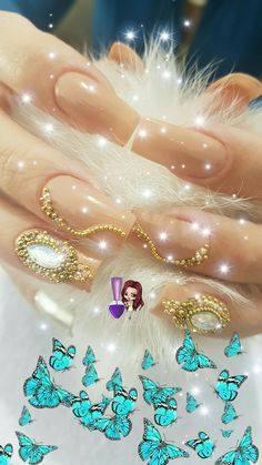 Manicures, Nails, Nail Jewels, Milena, Lewandowski, Pasta, Nail Art, 3d, Jewelry