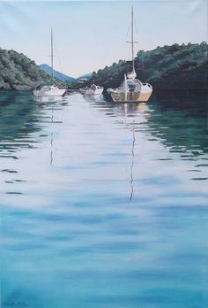 Ngakuta Bay, oil on canvas. #oilpainting #art #seascape