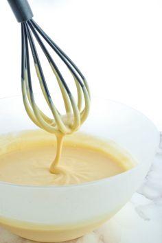 Recette facile et rapide de la crème patissière, recette tupperware au micro ondes - French food