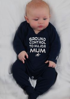 Our David Bowie baby sleepsuit ensures your baby is the trendiest in the galaxy, Space Oddity inspired clever silver slogan, FREE UK P&P Baby Stocking Fillers, Funny Baby Grows, Punk Baby, Cool Kids Clothes, Baby Christmas Gifts, Romper Outfit, Baby Boy Or Girl, Newborn Baby Gifts, Cool Baby Stuff