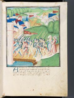 Bern, Burgerbibliothek, Mss.h.h.I.3, f. 257 – Diebold Schilling, Amtliche Berner Chronik, vol. 3