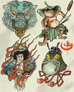 Japanese tattoos for men 日 式 小 图 irezumi ta Japanese Tattoo Cherry Blossom, Japanese Tattoo Koi, Japanese Tattoo Meanings, Japanese Tattoos For Men, Japanese Sleeve Tattoos, Japanese Art, Japanese Style, Japanese Dragon, Chinese Dragon