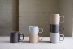 Hasami Porcelain Mug Cup Clear Small/Medium - Kurasu   - 4
