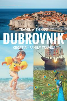 Dubrovnik with kids- 5 things to do in Dubrovnik for families