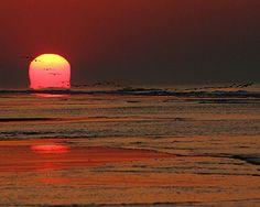 Sunrise over the surf... Hilton Head Island dreaming... http://HiltonHeadRealtySales.com