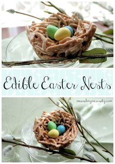 Edible Easter Nests