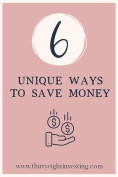 Unique Ways to Save Money Wanting to save money? Check our these 6 unique ways to help your budget t Ways To Save Money, Money Saving Tips, Best Home Business, Money Today, Budgeting Money, Financial Tips, Tight Budget, Personal Finance, Making Ideas
