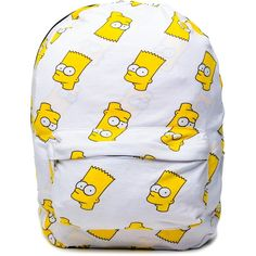 Bart Backpack ($55) ❤ liked on Polyvore featuring bags, backpacks, accessories, backpack, punk backpack, knapsack bags, rucksack bag and backpacks bags