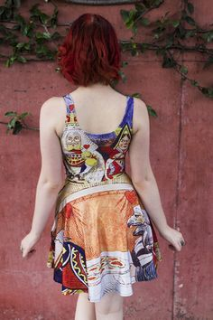 A skater dress. Living Dead Clothing, Pocket, Summer Dresses, Clothes, Collection, Fashion, Outfits, Moda, Clothing