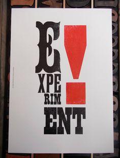 Leeds Print Festival - Experiment!
