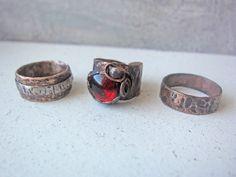 Copper rings  by Mary Bulanova