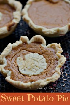 Southern Sweet Potato Pie Made with Candied Sweet Potatoes by Angela Roberts