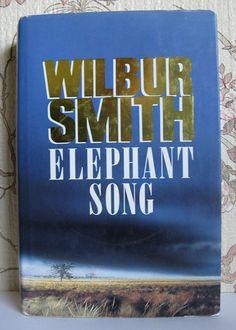 Wilbur Smith Elephant Song Vintage Hardcover by ShuuShuubyLulu