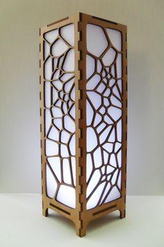 Voronoi Structure Lamp - Kim Covey