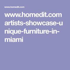 www.homedit.com artists-showcase-unique-furniture-in-miami