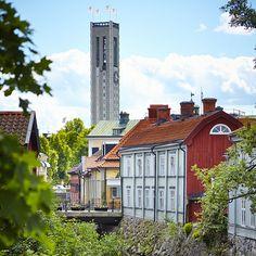 Svartån, Apotekarbron, Stadshuset Västerås Stad