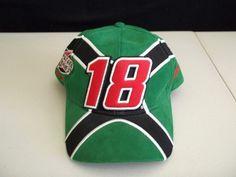 Bobby Labonte #18 NASCAR hat. Interstate Batteries Racing. Joe Gibbs Racing #InterstateBatteries