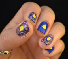Nail Art: How to Cheat Splatters with Lush Lacquer